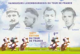 Luxemburgo 2013  Yvert Tellier Nº  1915 F ** 100A Tour De France - Ongebruikt