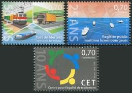 Luxemburgo 2016  Yvert Tellier Nº  2025/27 ** Serie Conmemorativa (3v) - Nuevos