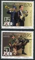 Luxemburgo 2017  Yvert Tellier Nº  2072/73 ** 175A De La Musica Militar Y 50A D - Nuevos