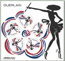 France 2020 Bloc Saint Valentin Cœurs Guerlain 5V MNH / Neuf** - Blocs & Feuillets