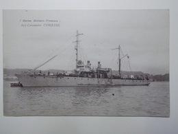 Carte Postale - Marine Militaie - Guerre - Canonnière CURIEUSE  (3856) - Guerre