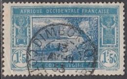 Côte D'Ivoire 1913-1944 - Dimbokro Sur N° 82 (YT) N° 84 (AM). Oblitération. - Côte-d'Ivoire (1892-1944)