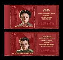 Russia 2019 Mih. 2671/72 Secret Service Agents Africa De Las Heras And Zoya Voskresenskaya (with Labels) MNH ** - 1992-.... Federazione