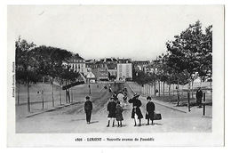 LORIENT    Nouvelle Avenue Du Faouédic    (recto-verso) - Lorient