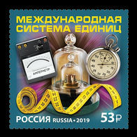 Russia 2019 Mih. 2713 International System Of Units MNH ** - Unused Stamps