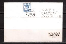 """World Cup-1966,Cover,  LIVERPOOL( """"A"""") , Football, Soccer, Fussball,calcio - 1966 – Inglaterra"""