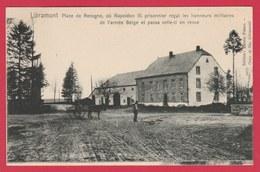 Libramont - Place De Recogne  Où Napoléon III Prisonnier Reçut Les Honneurs Militaires .... ( Voir Verso ) - Libramont-Chevigny