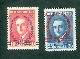 Albania 1928 Achmed Zogu Michel 169 170 MNH - Albania