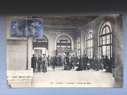 SEDAN-La Gare-Entrée Du Hall - Sedan