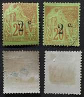 REUNION 1894 # 45c * Et 45 - Neufs
