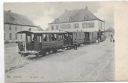 Anthée - La Place - Tram A Vapeur -top Carte-rare - Onhaye