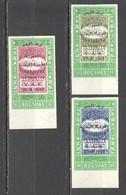 TT267 IMPERFORATE OVERPRINT 1962 YEMEN ARAB REPUBLIC HISTORY #296-8B !!! MICHEL 30 EURO !!! 1SET MNH - History