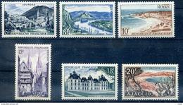 976-981 Serie Touristique, La Serie Neuf Sans Charniere, Cote 9€ - Neufs