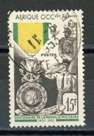 A.O.F. - MEDAILLE MILITAIRE  N° Yt 46 Obli. - Usati