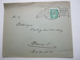 1932 , Schiffpost , Brief - Deutschland