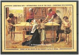 St Christopher, Nevis, Anguilla 1979 International Year Children, Mi Bloc 7, MNH(**) - St.Kitts-et-Nevis ( 1983-...)