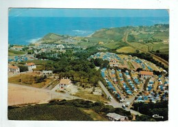 24100  CPM SAINT JEAN DE LUZ  : ACOTZ  - Les Campings !! 1er Plan Camping Maya ! 1974 !! - Saint Jean De Luz