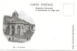Exposition Universelle Liége 1905 NA7: Spa. Le Pouhon ( Propagante ) - Ausstellungen