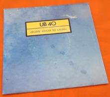 Vinyle 45 Tours UB40  Many Rivers To Cross (1983) - Reggae