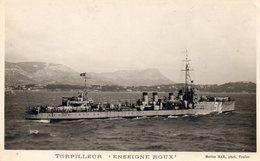 """Torpilleur """" Enseigne Roux """" - Guerre"""