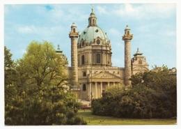 Wien - Karlskirche (Römisch-katholische Kirche) ~ 1968 - Églises