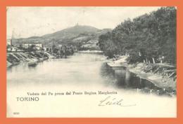 A634 / 357  TORINO Veduta Del Po Presa Dal Ponte Regina - Italia