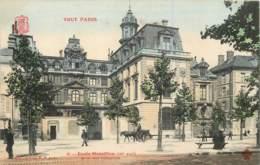 75004 - TOUT PARIS - Ecole Massillon Quai Des Célestins - Couleur - Arrondissement: 04