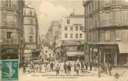75011 - TOUT PARIS - Rue Saint Sebastien Au Boulevard Beaumarchais - Belle Animation 1908 - Distrito: 11