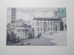 Carte Postale - ITALIE - Arezzo - La Plaza Grande (3871) - Arezzo