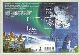 Finland 2007 International Polar Year, Mi Bloc 42, MNH(**) - Finlande