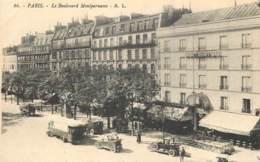 75014 - PARIS - Boulevard Montparnasse Avec Bouche De Métro - Distrito: 14