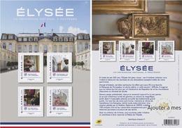 France 2020 Collector Elysée Un Patrimoine National à Protéger 4V MNH / Neuf** - Collectors