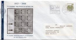 ALEMANIA / GERMANY  CARTA 1982 MICHEL DE 1140 - [7] Repubblica Federale