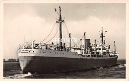 PHOTO POSTCARD -  SS Alex Van Opstal - Koopvaardij
