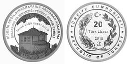 AC - SEYH EDEBALI BRIGHTENERS OF ANATOLIA #3 SILVER COIN TURKEY 2018 PROOF UNCIRCULATED - Turquia
