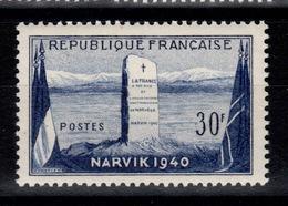 YV 922 N** Narvik Cote 4 Euros - France
