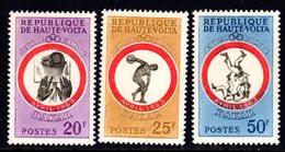UPPER VOLTA - 1963 DAKAR GAMES SET (3V) FINE MNH ** SG 114-116 - Upper Volta (1958-1984)