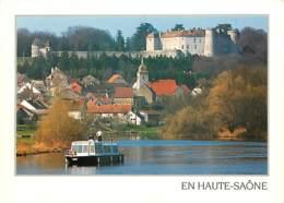 70 - Ray Sur Saone - Plaisance Fluviale Au Pied Des Hauts Lieux Historiques - (Château De Ray-sur-Saone) - Bateaux - Voi - Other Municipalities