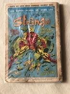 RARE Strange N°1  Edition Original 05 Janvier 1970 Les Super Héros De Stan Lee. - Strange