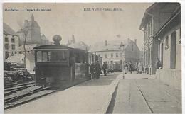 Houffalize-depart Du Vicinal- Tram A Vapeur - Houffalize