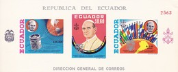 Ecuador Ungezähnt **  Kleinbogen  Mit Papst - Equateur