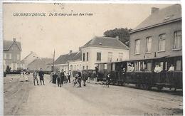 Grobbendonck  -tram A Vapeur-supere Animée -top Carte - Grobbendonk