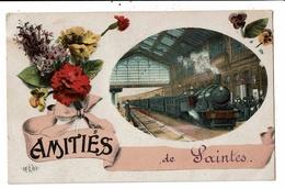 CPA-Carte Postale -France-Amitiés De Saintes--1918 VM11357 - Saintes