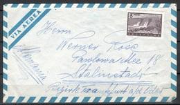 Argentinien Brief Nach Stalinstadt - Argentine