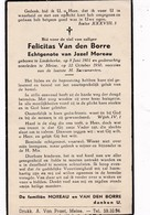 Liedekerke, Meise, 1950, Felicitas Van Den Borre, Moreau - Images Religieuses