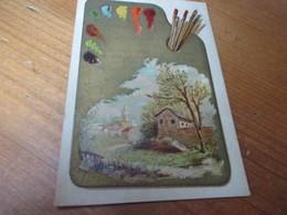 Chromo,Oostende, Rue De La Chapelle, A Polsenaere Tulpinck - Trade Cards