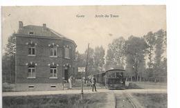Geer  -arret Du Tram A Vapeur- Top Carte - Geer