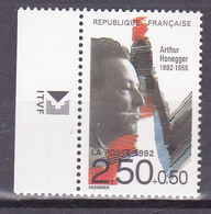 N° 2750  Personnages Célèbres:Arhur Honegger:  Un Timbre  Neuf Impeccable Sans Charnière - Francia