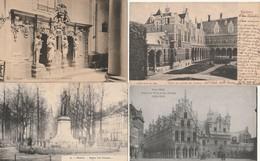 4 MOOIE POSTKAARTEN VAN MECHELEN. - Mechelen