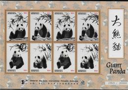 DOMINIQUE Feuillet N° 1892/95 * *   Ours Panda Geant - Beren